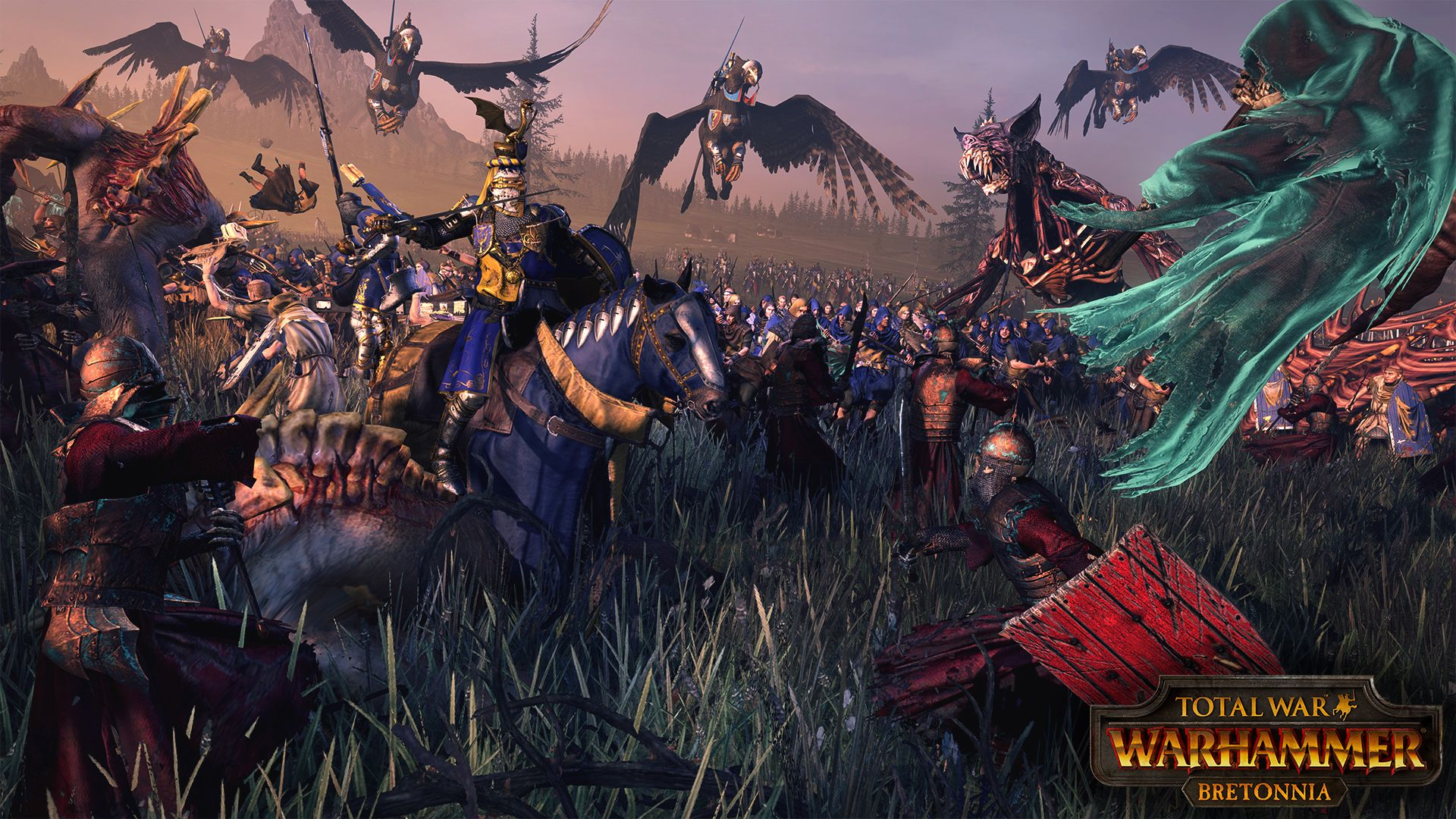Wallpaper Bretonnia Hd Warhammer Fantasy In 2019 Warhammer