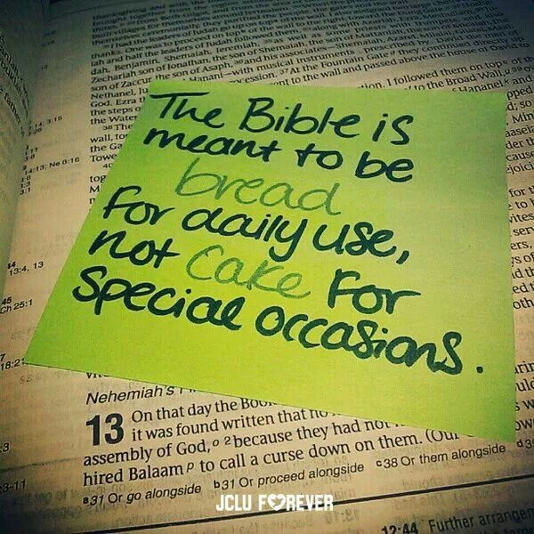 Bible= Daily Bread