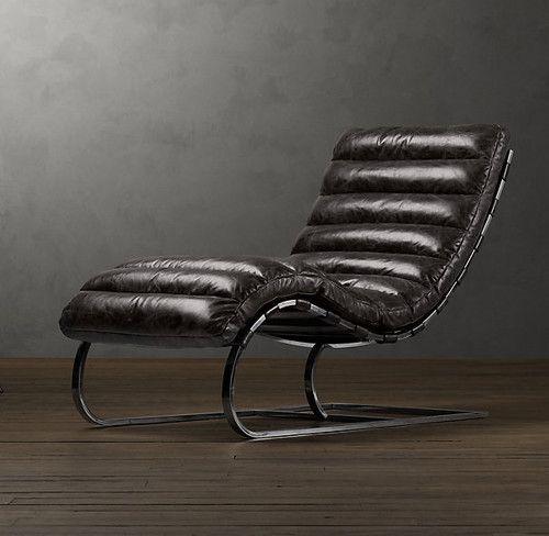 Oviedo Leather Chair   Eclectic   Chairs   Restoration Hardware
