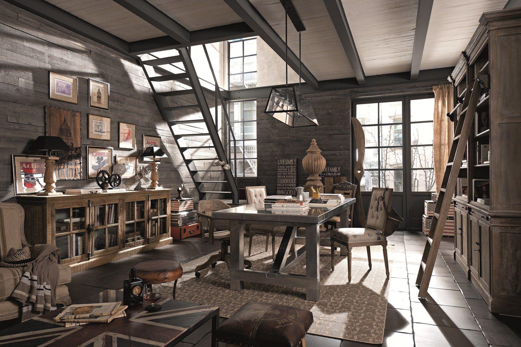 Ristorante industrial pentole cerca con google domki for Arredare loft open space
