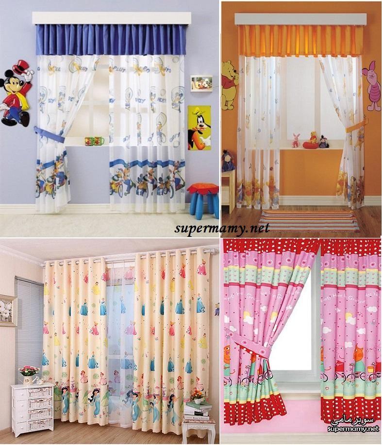 ستائر غرف اطفال لكل الاعمار Kids Curtains Kids Gadgets Home Decor
