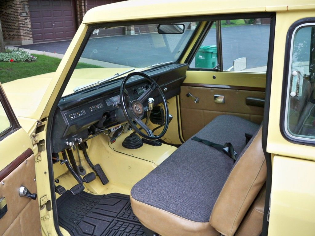 Stupendous Front Bench Seat Interior On This1980 International Scout Ii Dailytribune Chair Design For Home Dailytribuneorg