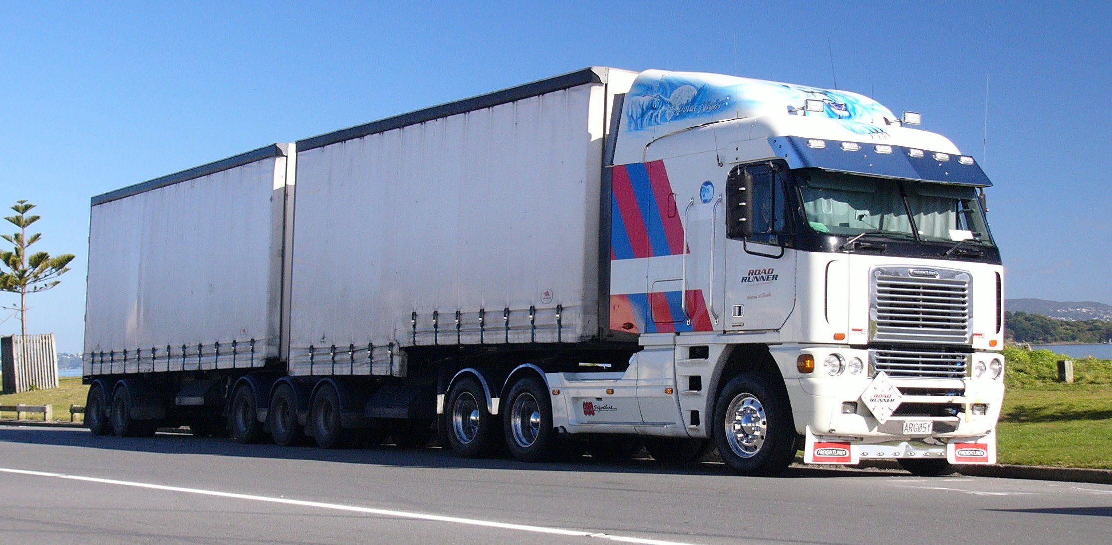 Freightliner argosy new zealand