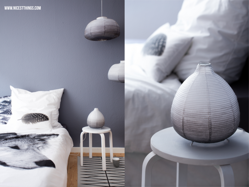 Diy ombre lampenschirm selber machen aus ikea papierlampe im dip dye look craft ideas ii - Papierlampe rund ...