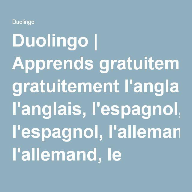 duolingo espagnol gratuit