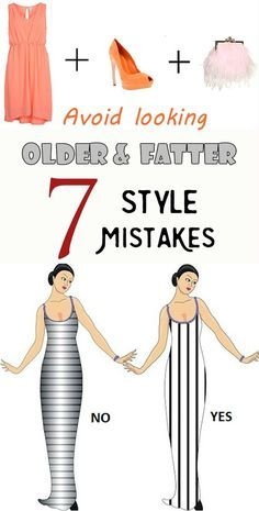 It's amazing how many years can add or subtract the clothing style details. Improper color and hair length, an uninspired skirt and we find ourselves 10 years and as many pounds in addition. Here are some mistakes because of which we look much older and fatter than we really are. Going shopping with the wrong …