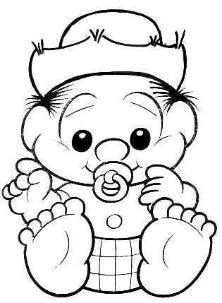 Chico Bento Baby Criancas Para Colorir Desenho Turma Da Monica