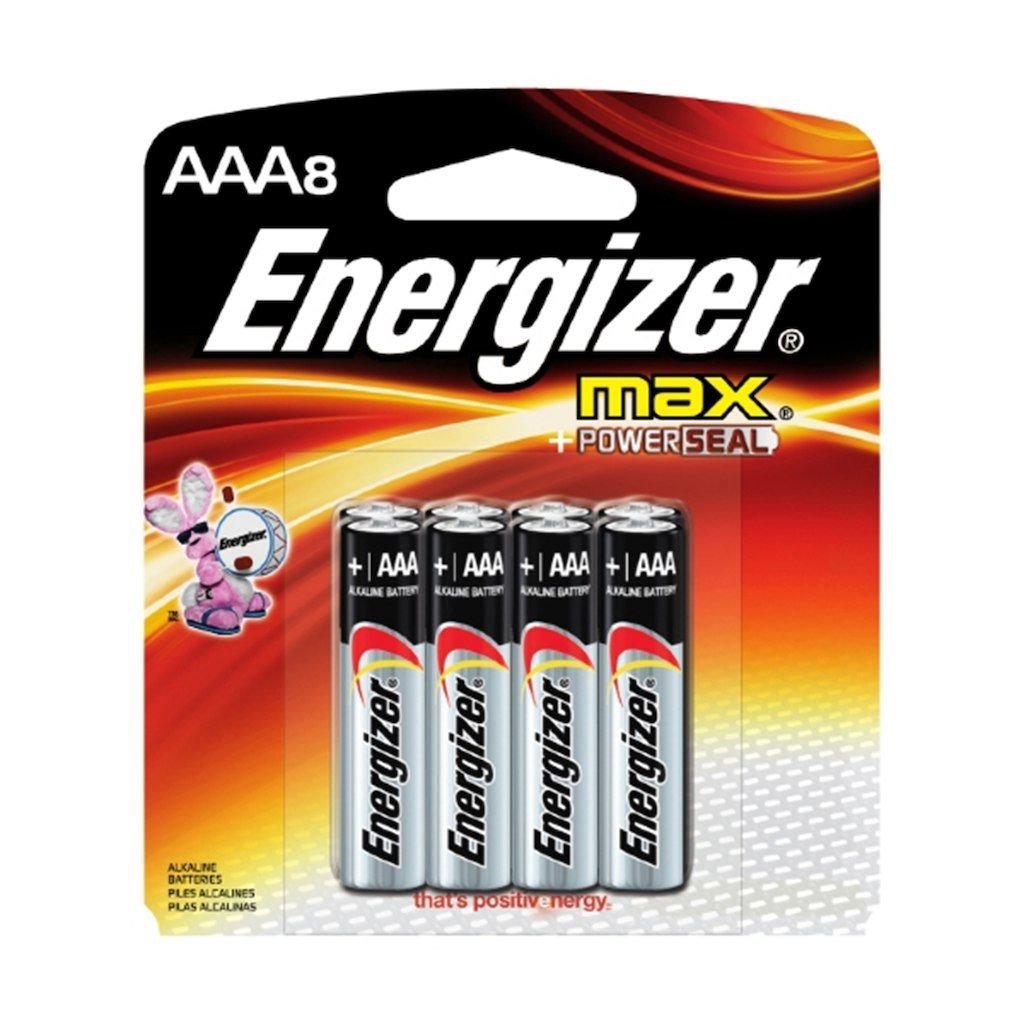 Energizer Max Aaa Household Batteries 8ct Energizer Battery Energizer Aaa Batteries