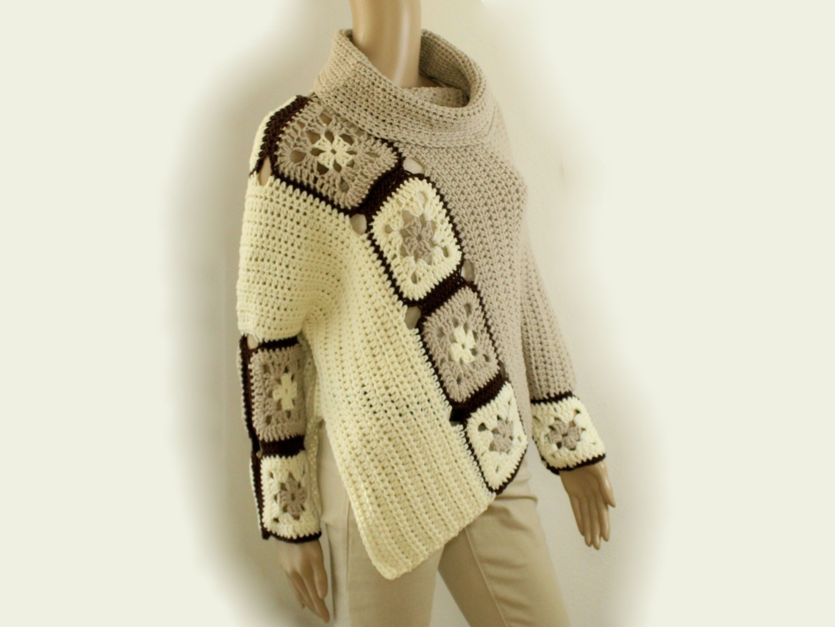 Poncho häkeln CrazyPatterns nk-chrohet | https://www.crazypatterns ...