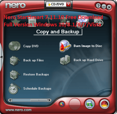 nero free download for windows 10 pro 64 bit