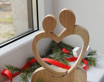 valentinstag geschenk holz herz puzzl hochzeit geschenk ungew hnliches geschenk holz dekor. Black Bedroom Furniture Sets. Home Design Ideas