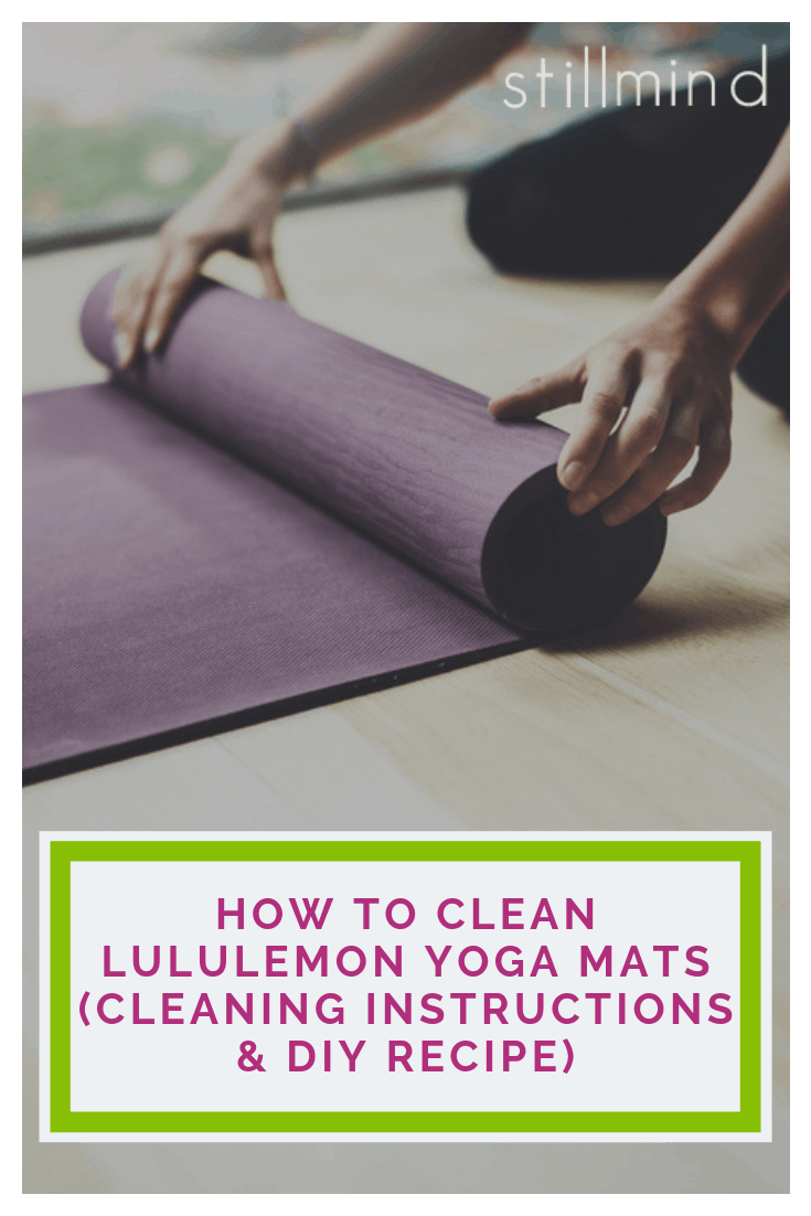 Learn How To Clean A Lululemon Yoga Mat With Our Diy Recipes Using A Combination Of Environmentally Friendl Lululemon Yoga Mat Lululemon Yoga Yoga Mat Cleaner