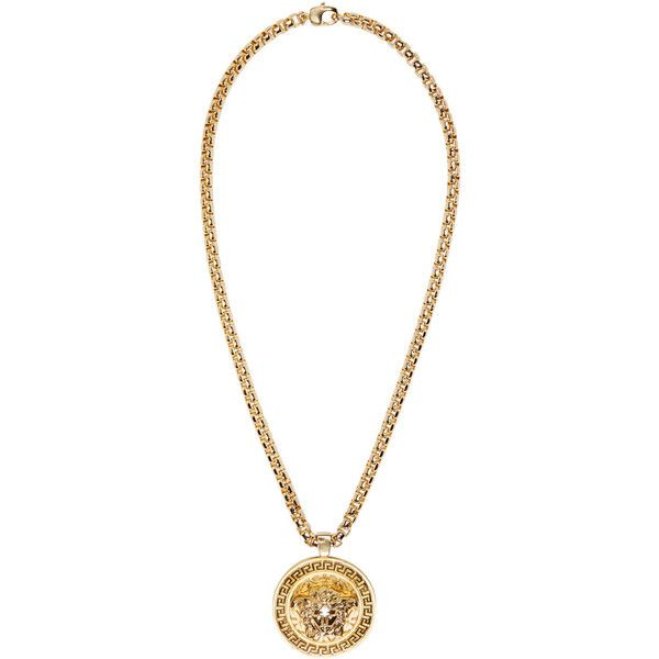 Versace gold medusa medallion necklace 1000 liked on polyvore versace gold medusa medallion necklace 1000 liked on polyvore featuring mens fashion aloadofball Images