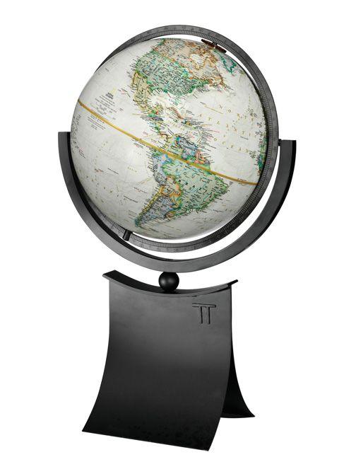 National geographic phoenix desktop world globe with full meridian national geographic phoenix desktop world globe with full meridian solid black metal base gumiabroncs Choice Image