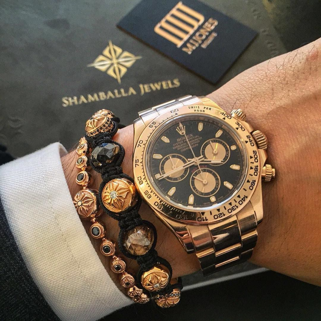 Repping The Rosegold Rolex Daytona Repping The Rosegold