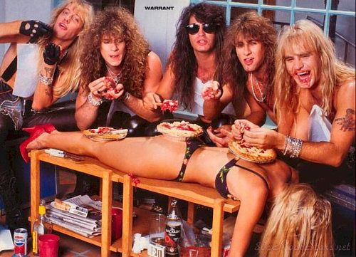 Hair Metal groupies are my new favorite! Warrant | Groups