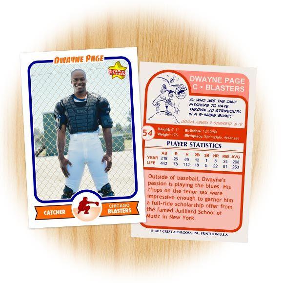 baseball card format - Heart.impulsar.co