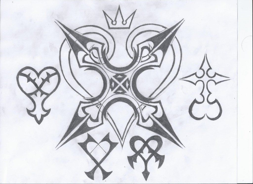 kingdom hearts tattoos | Kingdom Hearts Tattoo by o0o0-o0o0-00 ...