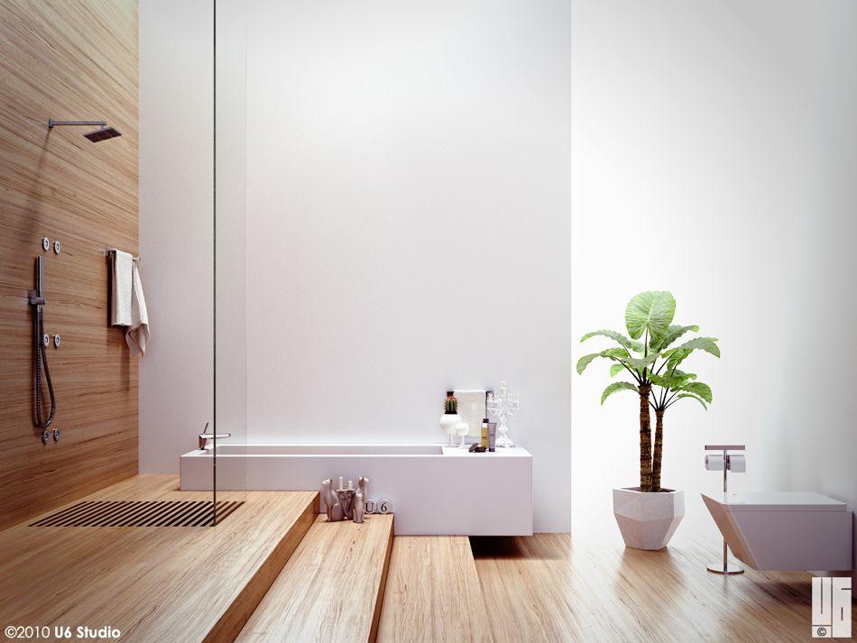 Bathroom Virtual Photography / Romy Tesei