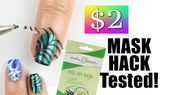 2 DRUGSTORE PEEL OFF MASK NAIL HACKTESTED   2 DRUGSTORE PEEL OFF MASK NAIL HACKTESTED