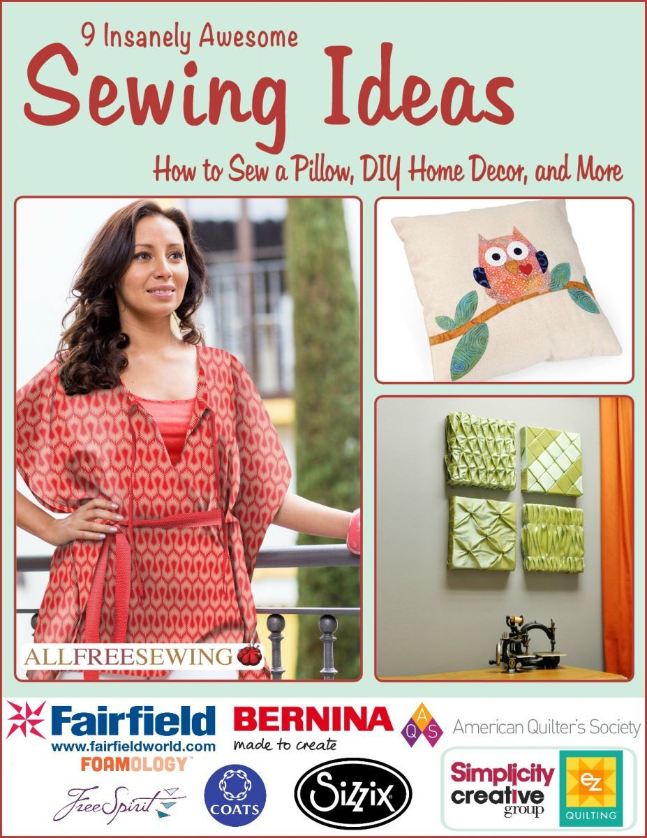 9 insanely awesome sewing ideas how to sew a pillow diy home decor and more