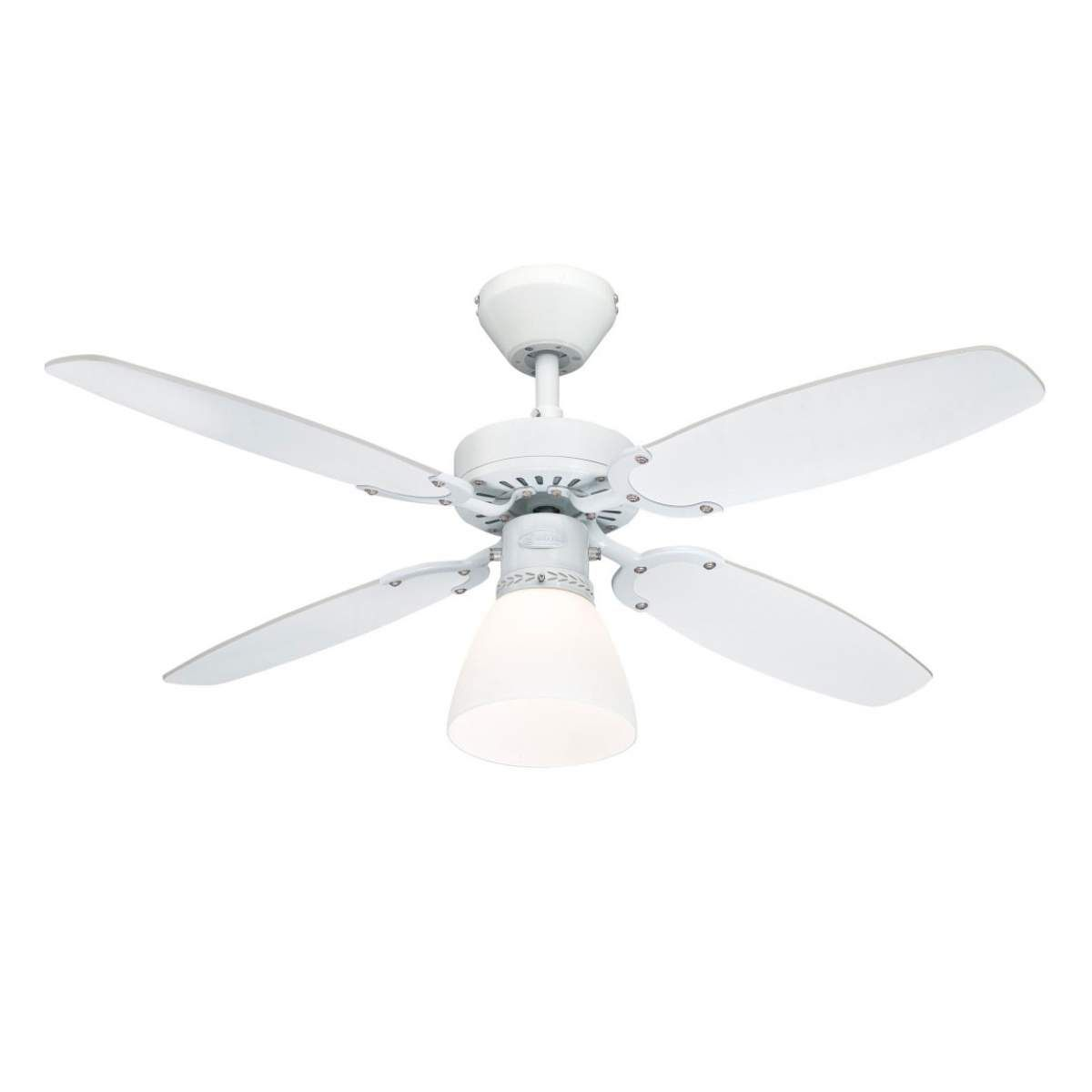Westinghouse Capitol Ventilator Flugel Weiss Buche Ventilator Deckenventilator Und Glas