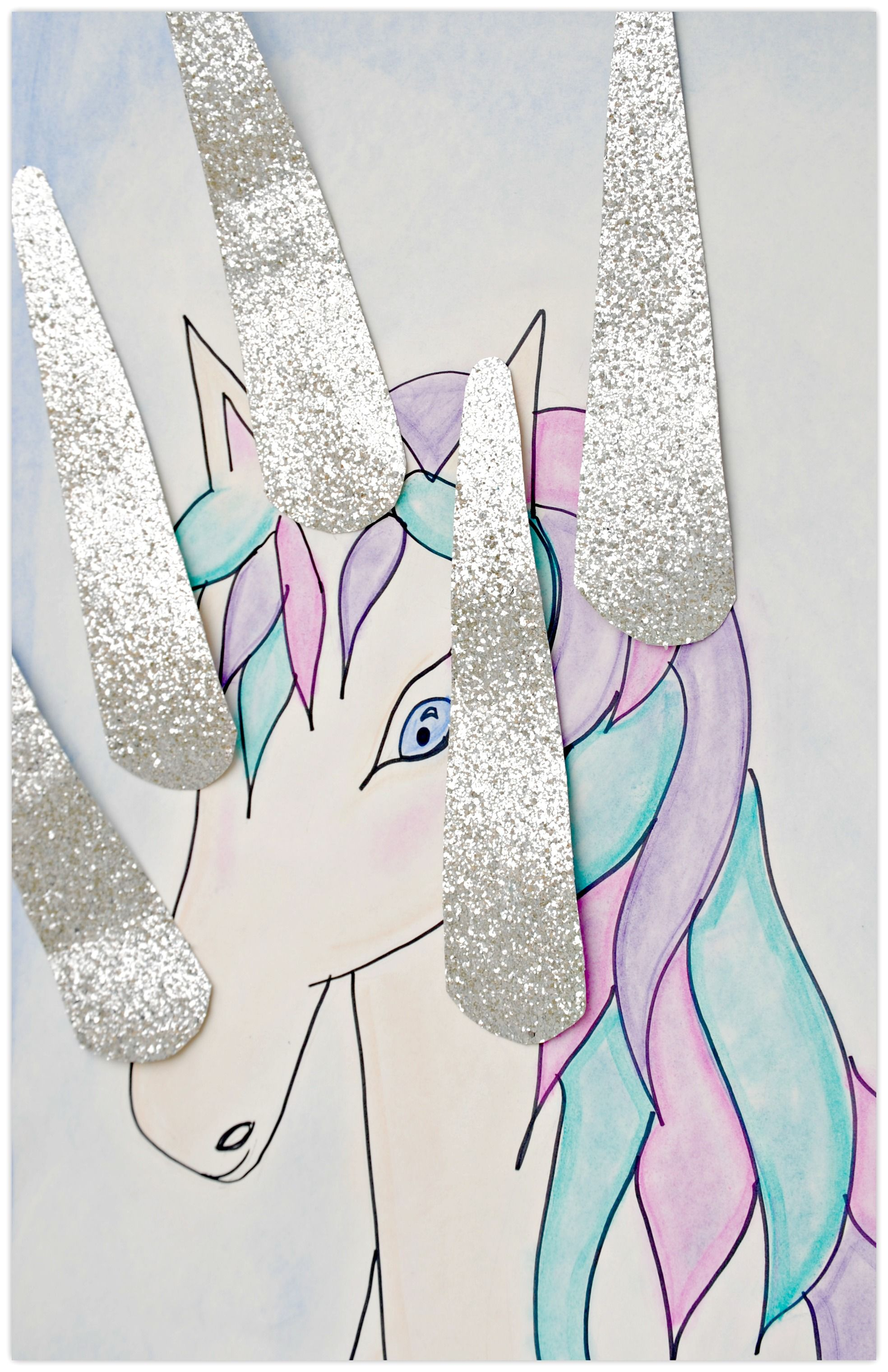 Sparkle Horn Unicorn Party Pinterest Unicornio Unicornios Y