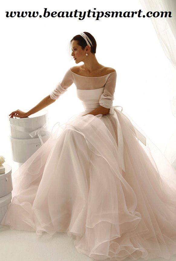 Boat Neck Wedding Dresses With Sleeves  0b1ffe292359