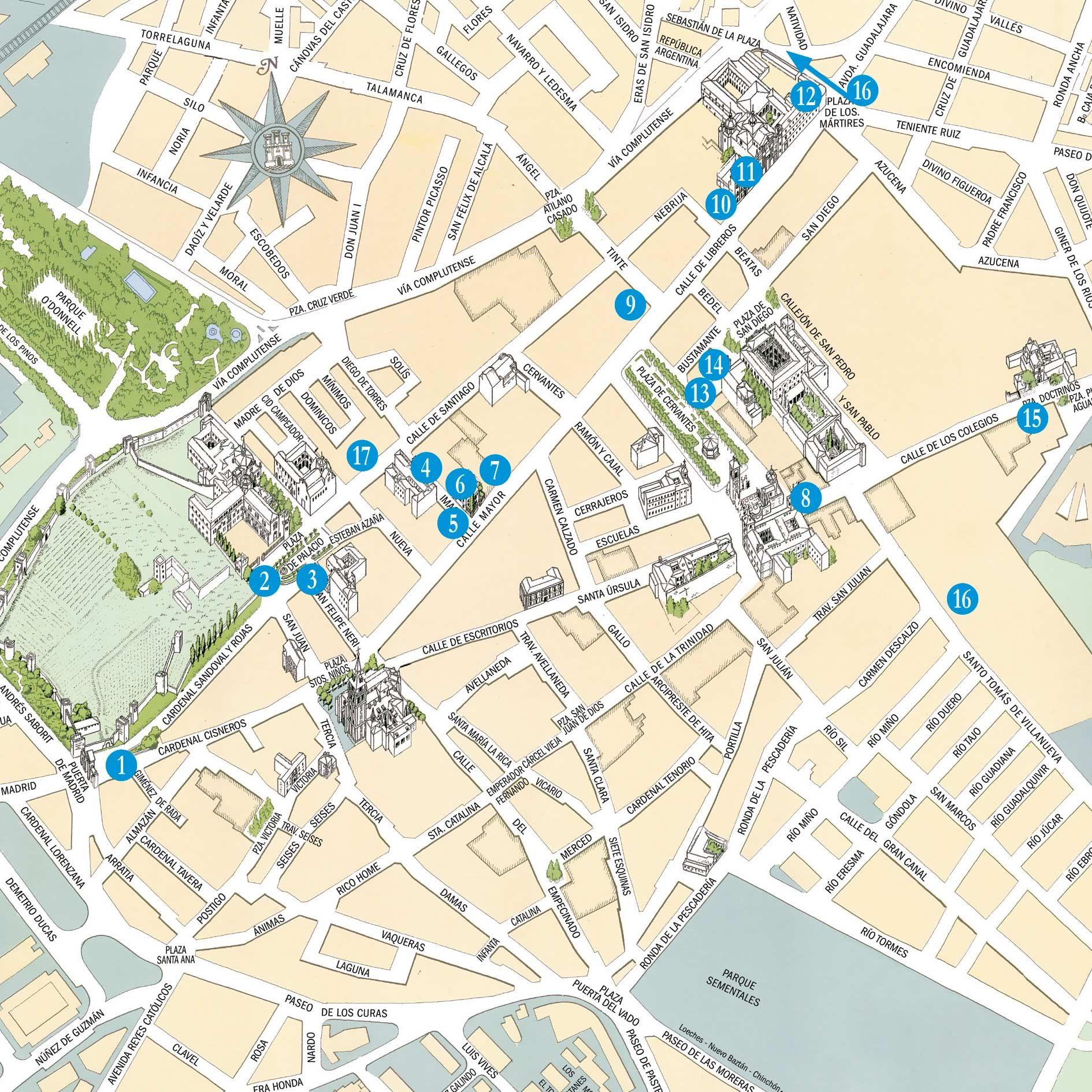 Mapa Alcala De Henares.Pin De Enrique Moraga En Alcala De Henares Alcala De