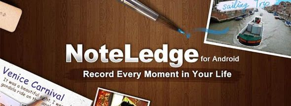 Android App Ideen record every moment in your with noteledge android app best