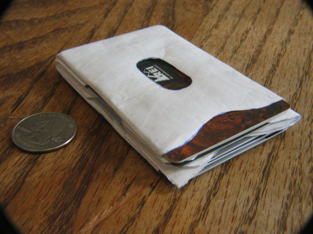 Super thin tyvek card sleeve wallet crafty craft and cards tyvek wallet magicingreecefo Image collections