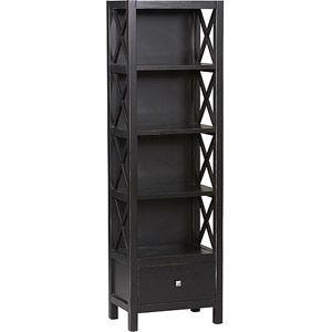 Home Tall Bookcases Linon 5 Shelf Bookcase