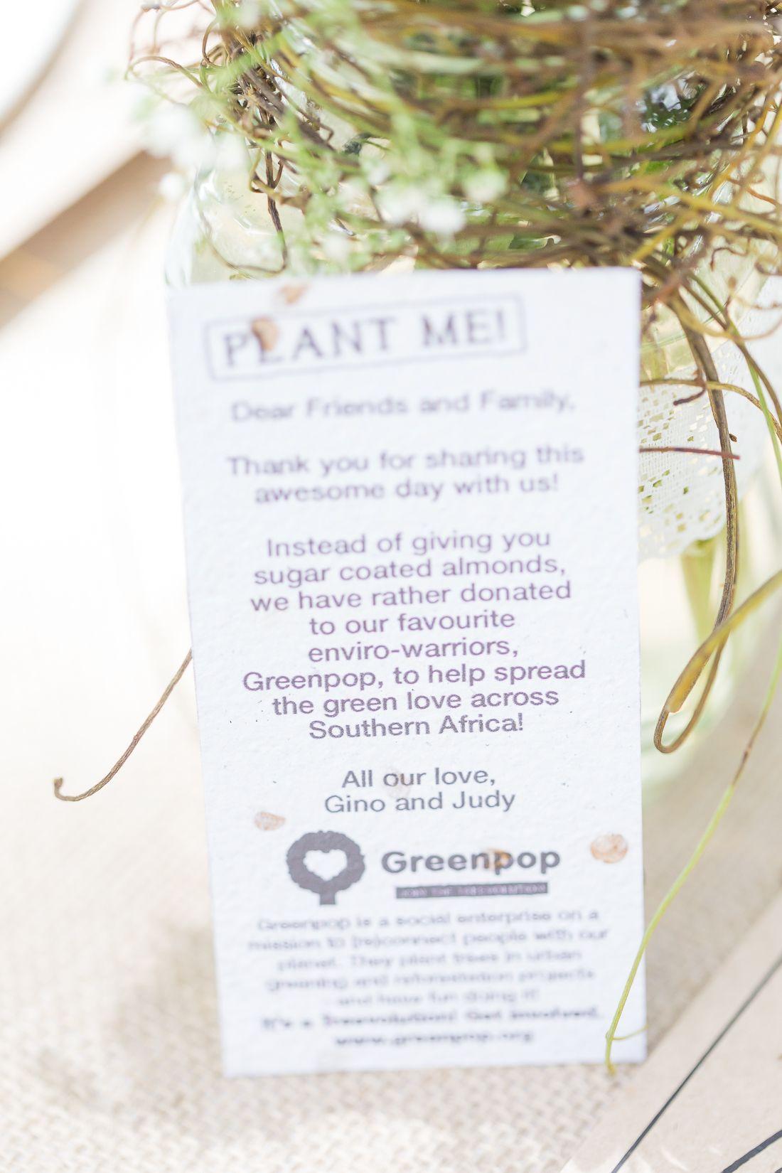 wedding favours, organic, eco friendly | Festive Fairytale Wedding ...