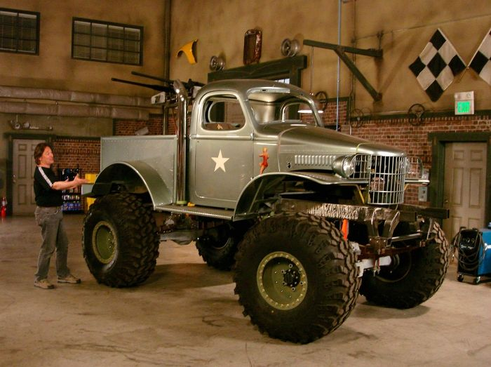 Stacey Davids 1941 Military 12 ton Dodge 4x4 Pickup Truck  Cool