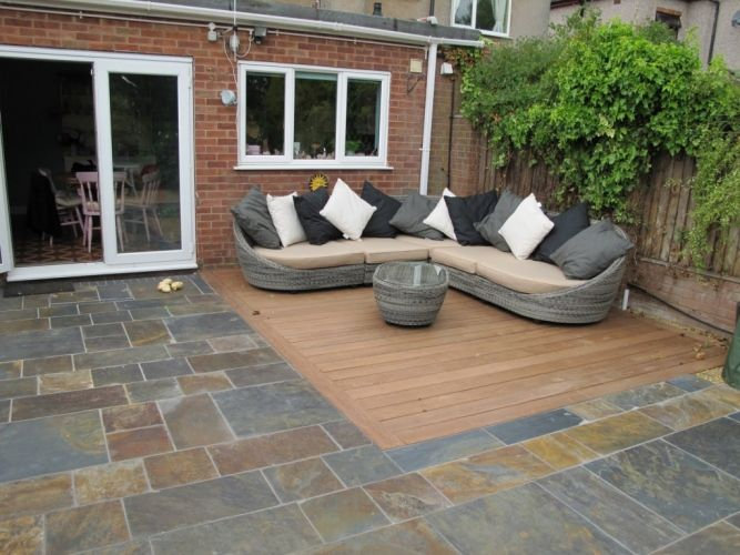 Garden Ideas Decking And Paving garden paved area greenfellas supplied and fitted in london
