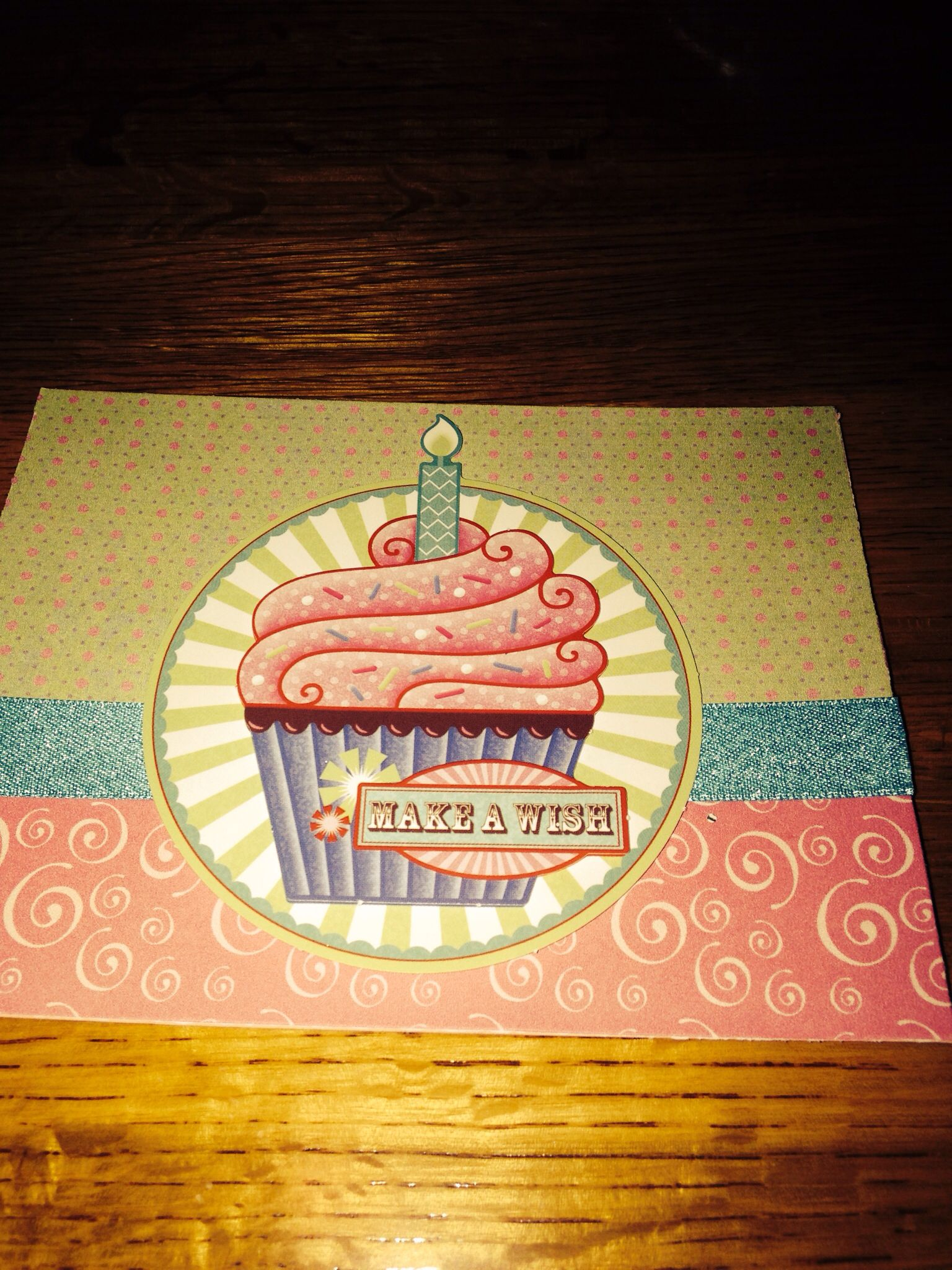 birthday card for my niece paper and papiertole are from