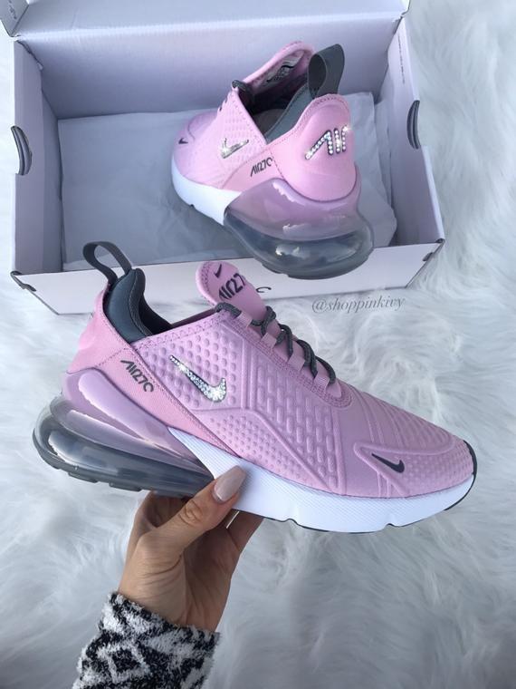 wholesale dealer 5fbbb 0713d Swarovski Nike Womens ragazze aria 270 personalizzato con   Etsy