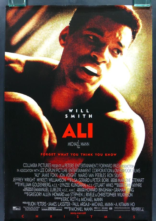 Ali..... Will Smith was great!