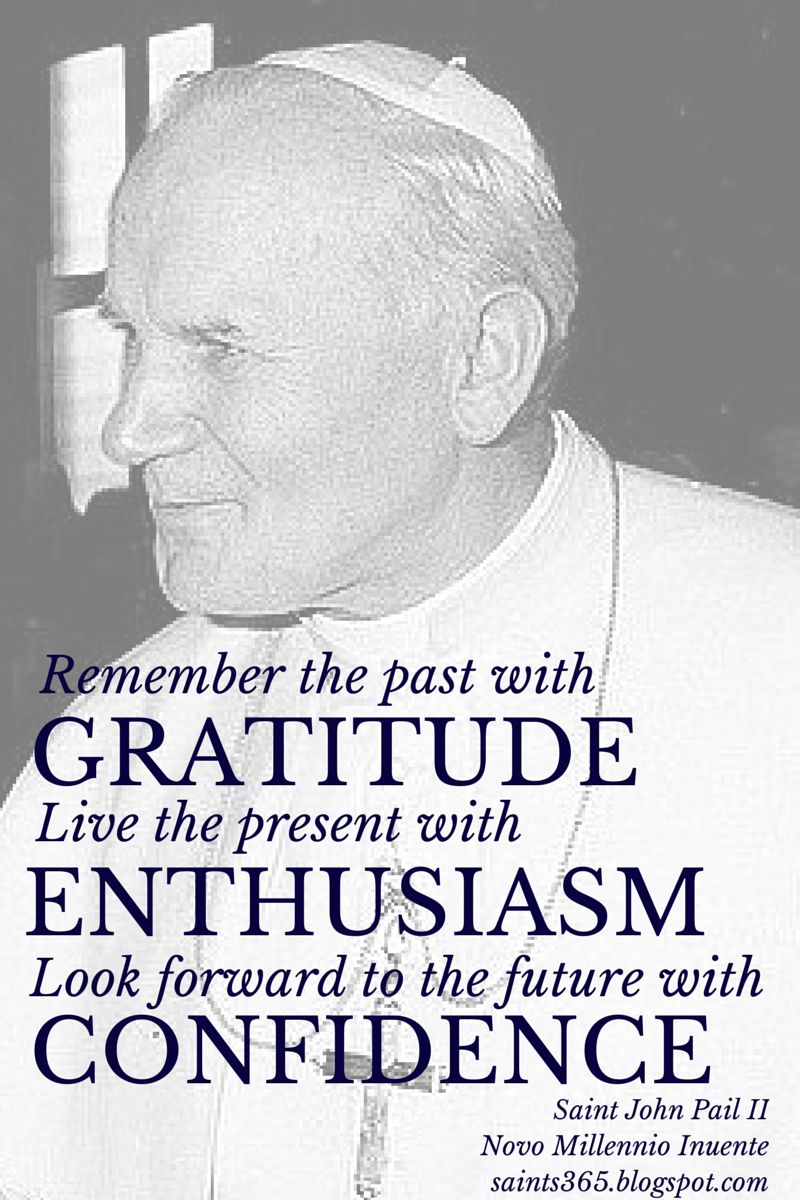powerful quote from saint john paul ii click to read