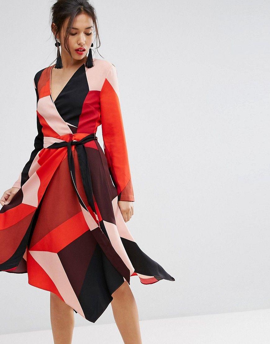 Pin von ladendirekt auf Kleider | Pinterest | Wickelkleider ...