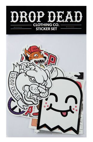 Panther sticker pack drop dead clothing ddpintown