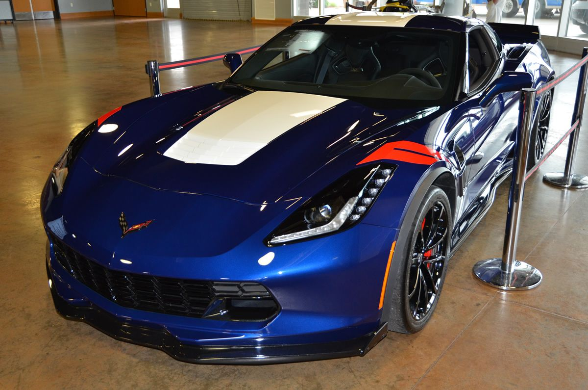 2017 Corvette Grand Sport Z15 Heritage Package Admiral