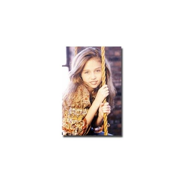 Miley Cyrus Younger Years Pictures - MusicWorld ❤ liked on Polyvore featuring miley cyrus