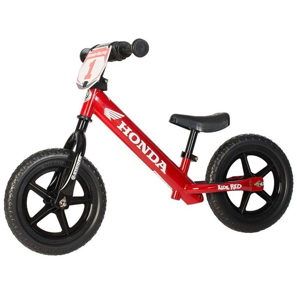STRIDER 12 Sport Honda Kids Balance Bike NoPedal Learn To