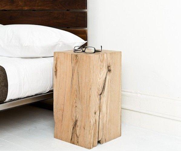 Nachttisch Holzstamm Eiche Eichenblock Jpg 598 500 Pixel Dekor Hausmobel Inneneinrichtung