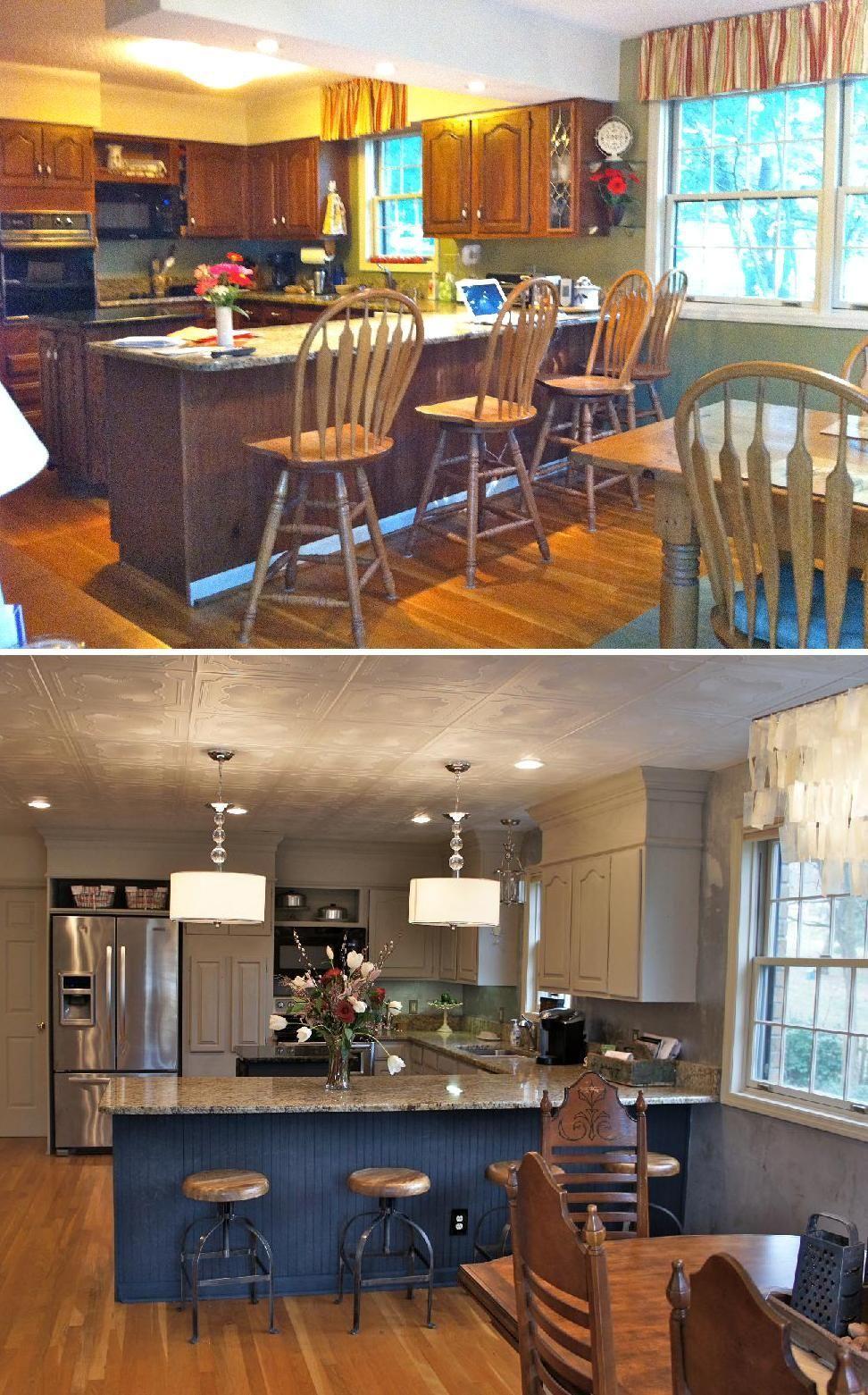 Cabinet Painting Nashville TN | Kitchen soffit, Painting ...