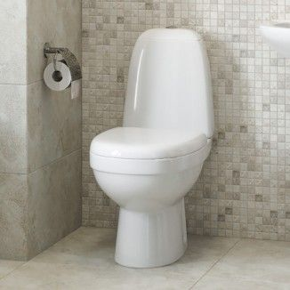 The Cova Toilet And Seat Comes With A