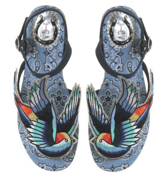 Sandalia Miss L Fire Bluebird - GoldenTrash  tienda on-line rocker   pin up f58d4fe73