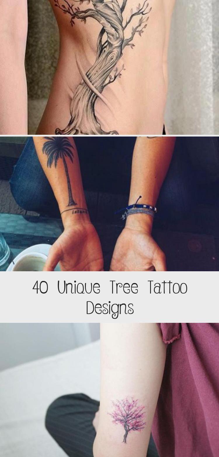 Photo of 40 dessins uniques de tatouage d'arbre