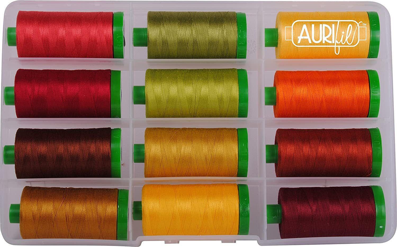 Large Spool 2235 Aurifil Thread Orange - 40wt